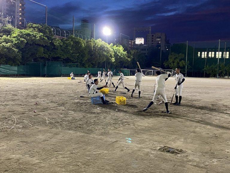 福岡第一 練習風景